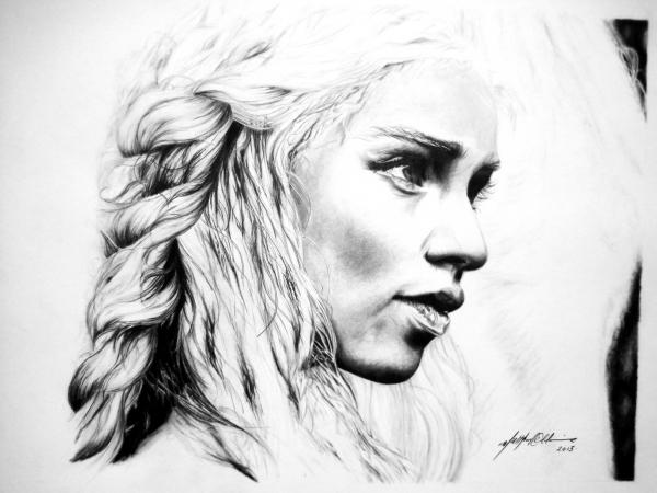 Emilia Clarke par PencilPerfect